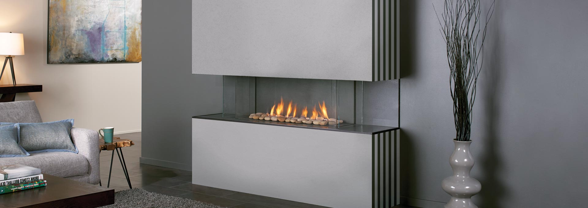 Experience Design Freedom with City Series Modern Gas Fireplaces