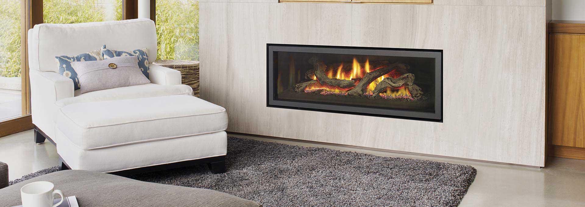 Linear Gas Fireplace - Regency GF1500L