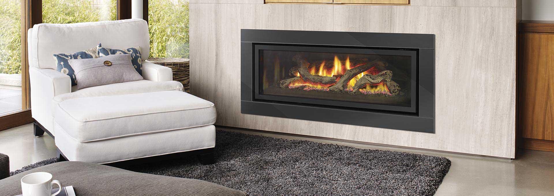 Greenfire GF1500L Gas Log Fire - Gas Fireplaces - Regency ...