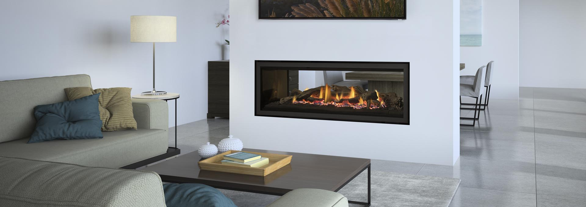 See Through Gas Fireplace Price Part - 21: Perfect For Contemporary Spaces And Open Concept Living Areas.