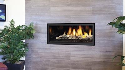 Greenfire GF900C gas fireplace