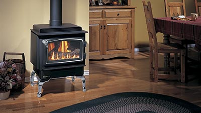 F33 freestanding gas fire