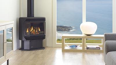 FG38 freestanding gas fire