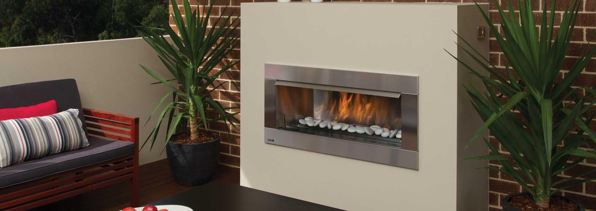 gemfire hzo42 outdoor gas fire regency fireplace products australia