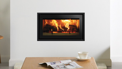 Stovax wood fireplace