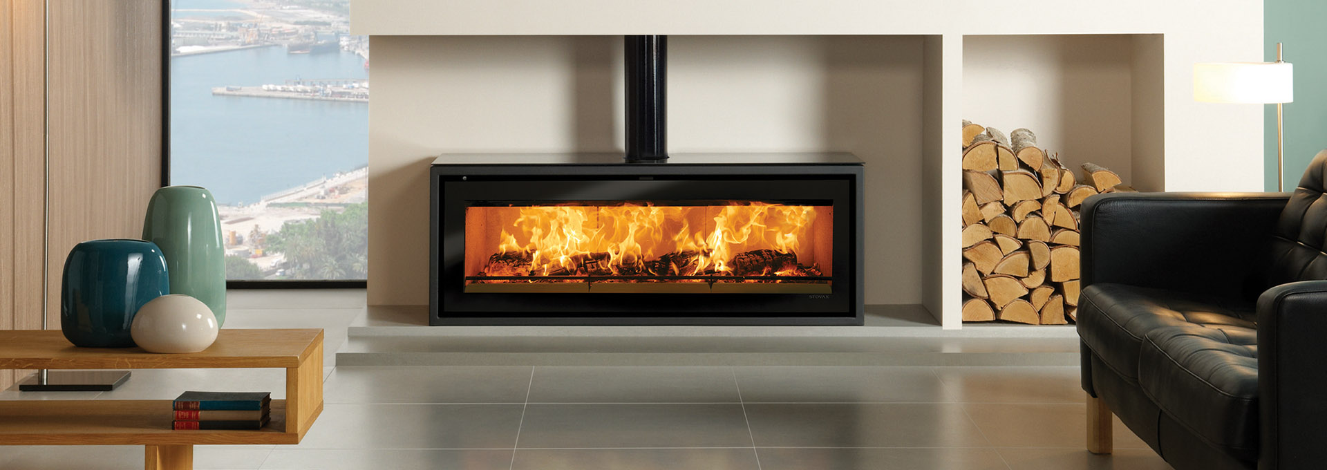 stovax studio stv3f wood freestanding heater