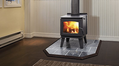 Narrabri wood freestanding fire