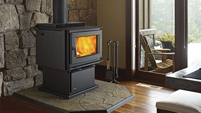Richmond wood freestanding fire